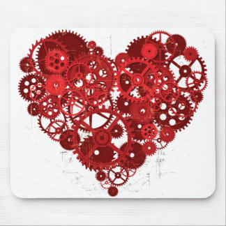 Heart_Gears_01 Mouse Pad