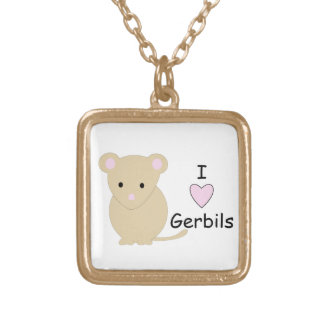 Heart Gerbils Necklace