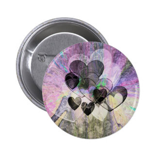 Heart Gifts Black Buttons