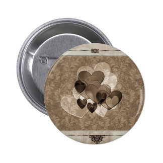 Heart Gifts Coffee Lover Pinback Button