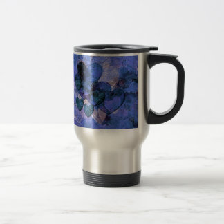 Heart Gifts For Him in Blue Coffee Mug