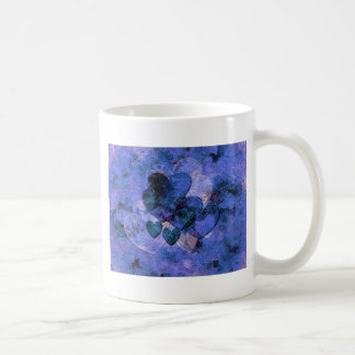 Heart Gifts For Him in Blue Mugs