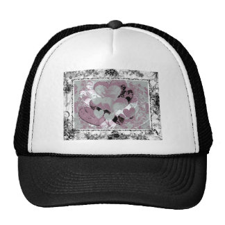 Heart Gifts | Hearts in Black lace Hats