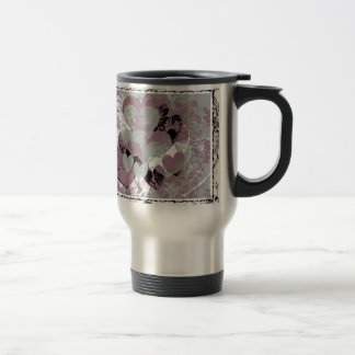 Heart Gifts | Hearts in Black lace Mugs