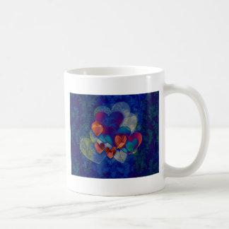 Heart Gifts | Orange and Blue Mug