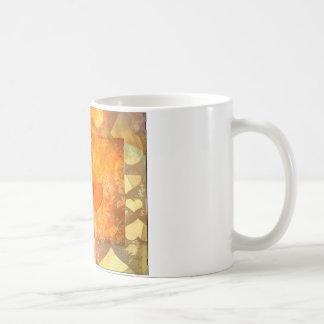 Heart Gifts | orange Flames Basic White Mug