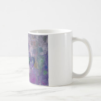 Heart Gifts | Purple and Green Mug