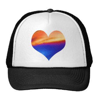 HEART GRADUATE LEAF FEATHER CAP