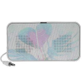 Heart Graffiti Portable Speakers