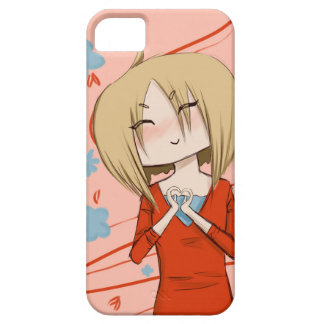 Heart Hands Chibi Phone Case iPhone 5 Cover