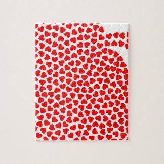 Heart Hearts Jigsaw Puzzle
