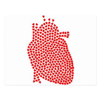 Heart Hearts Postcard