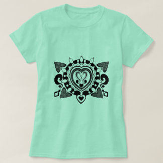 Heart henna design T-Shirt