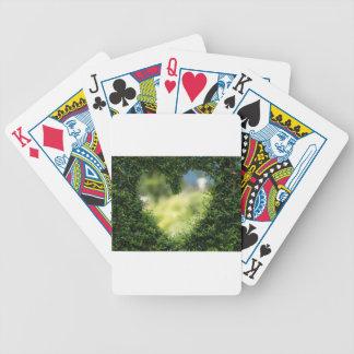Heart Herzchen Love Romance Luck Valentine's Day Bicycle Playing Cards