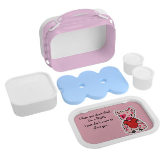 Heart Hog Lunch Box