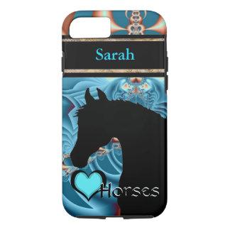 Heart Horses III Customizable (Dreamz 4) iPhone 8/7 Case