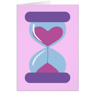 Heart Hourglass Card