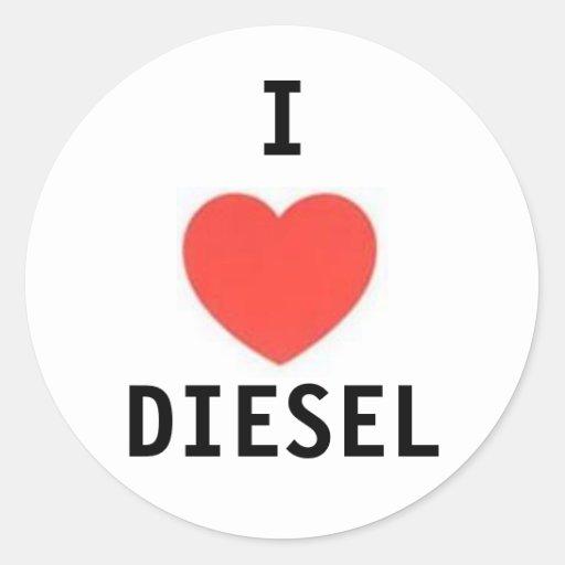 heart, I, DIESEL Sticker