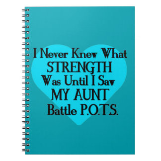 Heart/I Never Knew...Aunt...P.O.T.S. Notebook