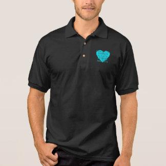 Heart/I Never Knew...Sister...P.O.T.S. Polo Shirt
