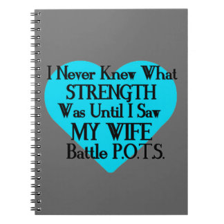 Heart/I Never Knew...Wife...P.O.T.S. Notebook