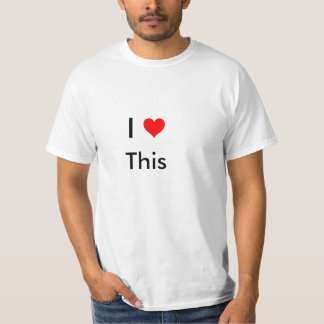 heart, I, This T-Shirt
