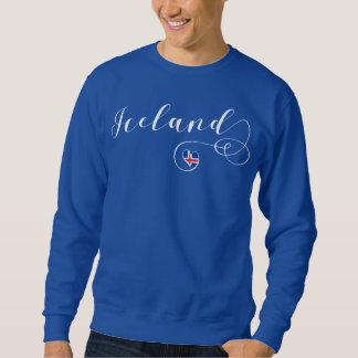 Heart Iceland Sweatshirt, Icelandic Sweatshirt