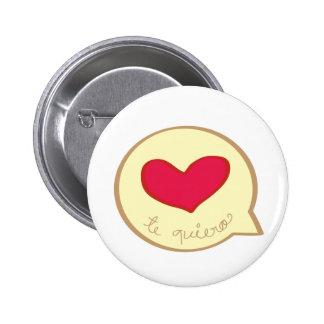 heart in a bubble button
