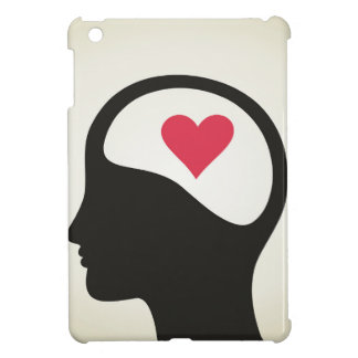Heart in a head iPad mini cover
