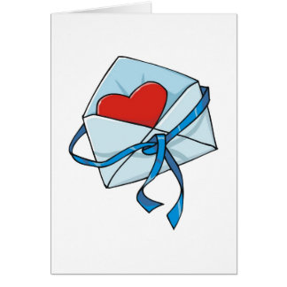 Heart in an Envelope Card