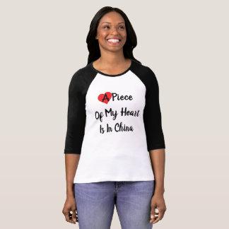 Heart In China Women's Shirt