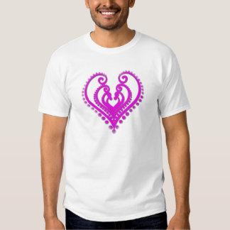 Heart In Desgin Tee Shirts