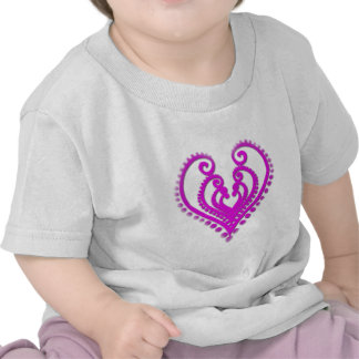 Heart In Desgin Tee Shirt