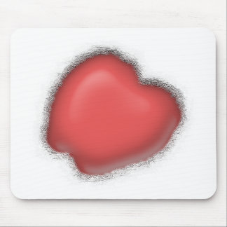 Heart In Frost Mouse Pad