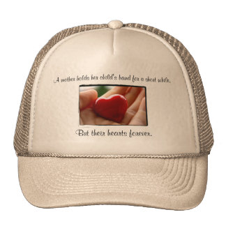 Heart in Hand - Mother's Day Cap
