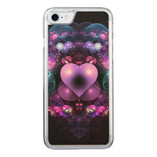 Heart in Love Carved iPhone 7 Case