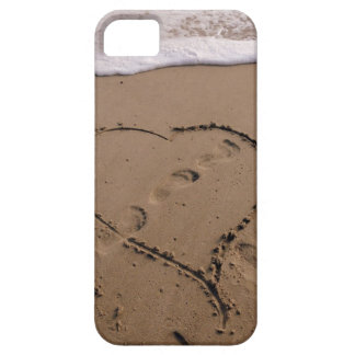 Heart in the Beach iPhone case