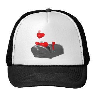 Heart In The Mail T-shirts and Gifts Mesh Hats