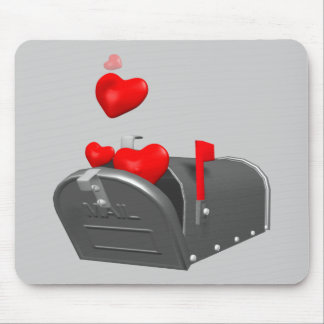 Heart In The Mail T-shirts and Gifts Mouse Pad