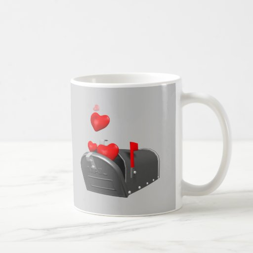 Heart In The Mail T-shirts and Gifts Coffee Mugs