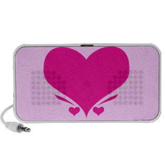 Heart ipad iphone Portable Speaker