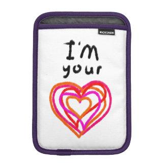 Heart iPad Mini Sleeve
