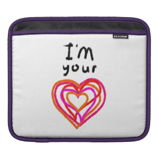Heart iPad Sleeve