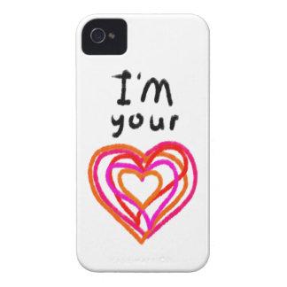Heart iPhone 4 Case-Mate Case