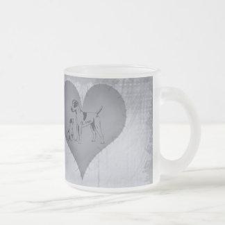 Heart Jack Russel Mug