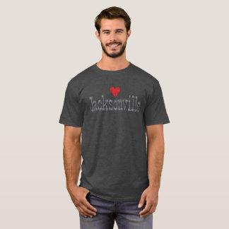 HEART JACKSONVILLE DISTRESSED T-SHIRT