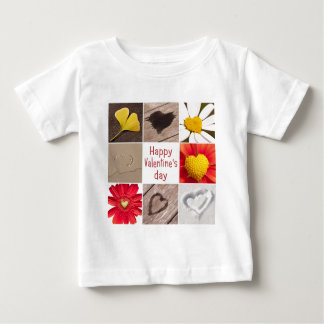Heart joining Happy Valentine' S day Baby T-Shirt