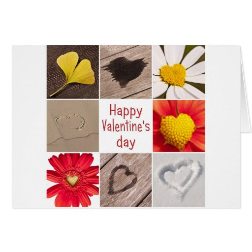 Heart joining Happy Valentine' S day Greeting Cards