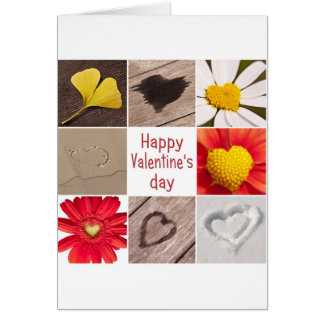 Heart joining Happy Valentine' S day Greeting Card