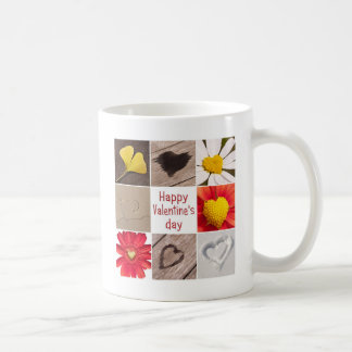 Heart joining Happy Valentine' S day Coffee Mug